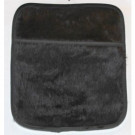 Microwave Hot Bottle - Micro Hottie Bottle - Plush Furry Black