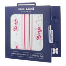 Blue Badge Display Wallet - Florall Design - Cathy