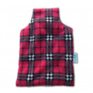 Amazing Health Unscented wheat hot bottle in Polybag - Cerise Check