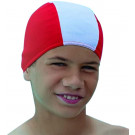 Childrens Fabric swimming hat red