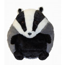 cozy time giant badger handwarmer