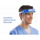 Protective Safety Shield, Visor with Anti Fog