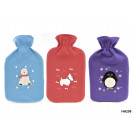 Polar Bear Fleece Plush Hot Water Bottles  - 2 litre