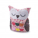 Hooty Heatable Owl - Pink Floral