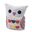 Hooty Heatable Owl - Cream Floral