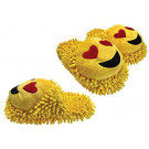 Aroma Home Fuzzy Friends Slippers Limited Edition - Love Hearts