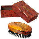 Hydrea Men's Military Hair Brush With Black Boar Bristle