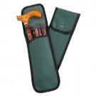 Folding Walking cane green pouch