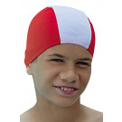 Childs Childrens Kids Fabric Swim Hat