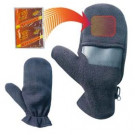 Heated Mittens with Pouch for Heat Pads - Medium