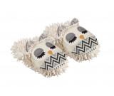 Fuzzy Friends Slippers - White Owl Novelty Slippers
