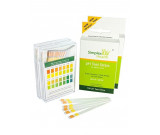 Simplex Health pH Test Strips pH 4.5 - pH 9.0 for Urine and Saliva with Dual Pad