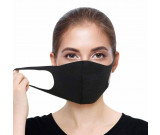 Face Mask Black, re-useable, Washable, Safety mask from Pollution, dust, air-Bourne pollutants
