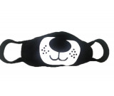 Face masks Black washable, re-usable, funny characters, Fun face masks for protection against airbourne pollutants, cycling and  dust - DOG